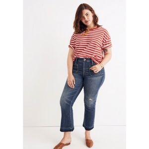 EUC Cali Demi-Boot Jeans: Patch Pocket Edition